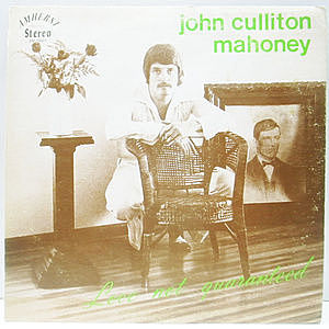 レコード画像:JOHN CULLITON MAHONEY / Love Not Guaranteed