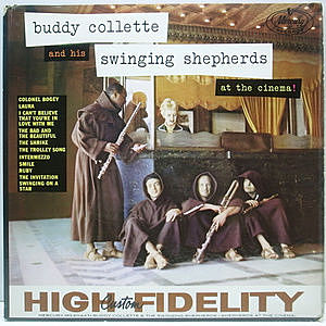 レコード画像:BUDDY COLLETTE / At The Cinema!