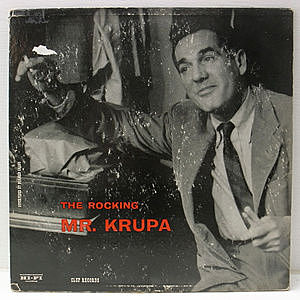 レコード画像:GENE KRUPA / The Rocking Mr. Krupa