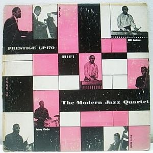 レコード画像:MODERN JAZZ QUARTET / The Modern Jazz Quartet