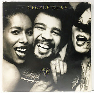 レコード画像:GEORGE DUKE / Reach For It