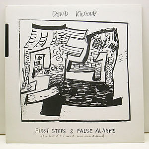 レコード画像:DAVID KILGOUR / First Steps & False Alarms