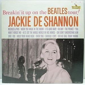 レコード画像:JACKIE DeSHANNON / Breakin' It Up On The Beatles Tour!