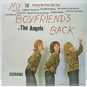 レコード画像:ANGELS / My Boyfriend's Back