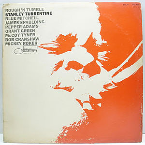 レコード画像:STANLEY TURRENTINE / Rough 'N Tumble