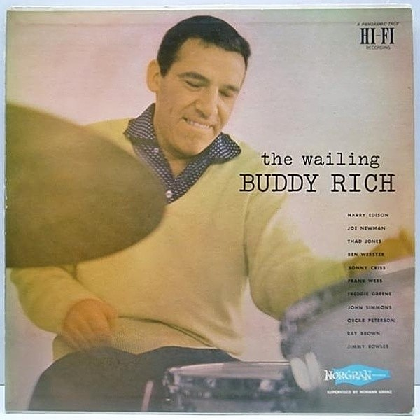 レコードメイン画像:美盤!! NORGRAN Orig. BUDDY RICH The Wailing / Ben Webster 他