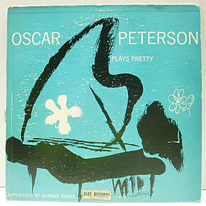 レコード画像:OSCAR PETERSON / Plays Pretty