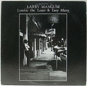 レコード画像:LARRY MANGUM / Lonnie The Loser & Easy Mary