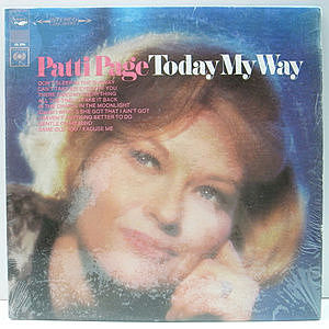 レコード画像:PATTI PAGE / Today My Way