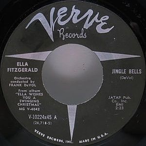 レコード画像:ELLA FITZGERALD / Jingle Bells
