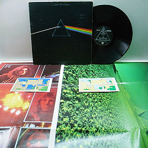 レコード画像:PINK FLOYD / The Dark Side Of The Moon