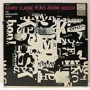 レコード画像:KENNY CLARKE / Plays Andre Hodeir