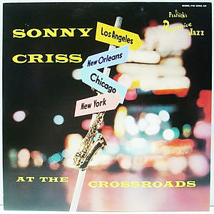 レコード画像:SONNY CRISS / At The Crossroads