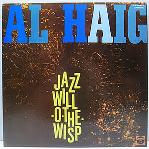 レコード画像:AL HAIG / Jazz Will-O-The-Wisp