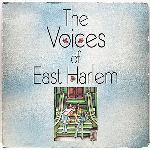レコードメイン画像:【CURTIS MAYFIELD & LEROY HUTSON Prod.】USオリジナル VOICES OF EAST HARLEM Same ('73 Just Sunshine) 米 Soul Funk, Rare Groove