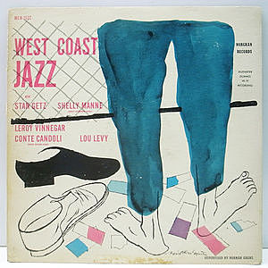 レコード画像:STAN GETZ / West Coast Jazz