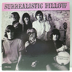 レコード画像:JEFFERSON AIRPLANE / Surrealistic Pillow