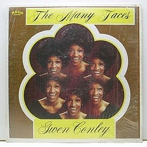 レコード画像:GWEN CONLEY / The Many Faces