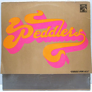 レコード画像:PEDDLERS / Three For All