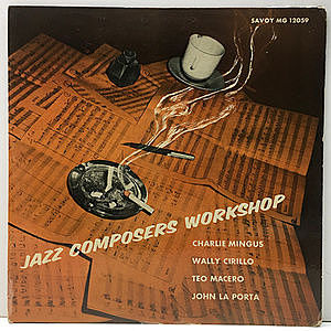 レコード画像:CHARLIE MINGUS / WALLY CIRILLO / TEO MACERO / JOHN LaPORTA / Jazz Composers Workshop