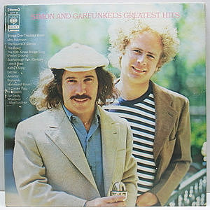 レコード画像:SIMON and GARFUNKEL / Simon And Garfunkel's Greatest Hits