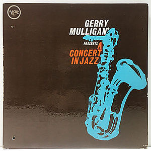 レコード画像:GERRY MULLIGAN / CONCERT JAZZ BAND / Gerry Mulligan Presents A Concert In Jazz