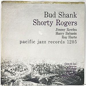 レコード画像:BUD SHANK / SHORTY ROGERS / BILL PERKINS / Bud Shank - Shorty Rogers - Bill Perkins