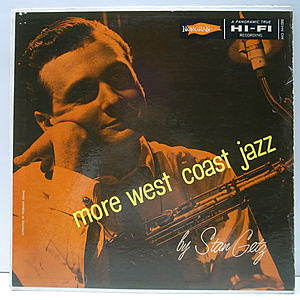 レコード画像:STAN GETZ / More West Coast Jazz