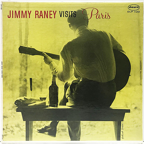 レコードメイン画像:良好品!! MONO 1st黒銀 深溝 USオリジナル JIMMY RANEY Visits Paris ('58 Dawn 1120) Bobby Jaspar, Roger Guerin, Maurice Vandair ほか