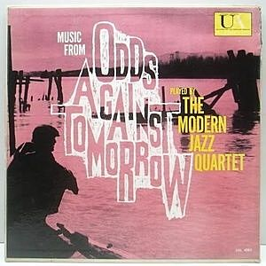 "レコード画像:MODERN JAZZ QUARTET / Music From ""Odds Against Tomorrow"""