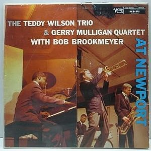 レコード画像:TEDDY WILSON / GERRY MULLIGAN / At Newport