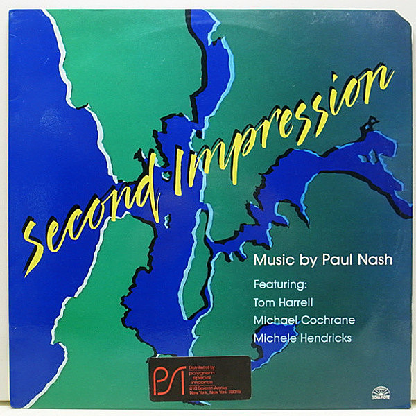レコードメイン画像:伊 ITALY Orig 極美盤 PAUL NASH Second Impression TOM HARRELL