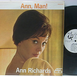 レコード画像:ANN RICHARDS / Ann, Man!