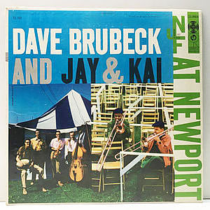 レコード画像:DAVE BRUBECK / J.J. JOHNSON / KAI WINDING / Dave Brubeck And Jay & Kai At Newport