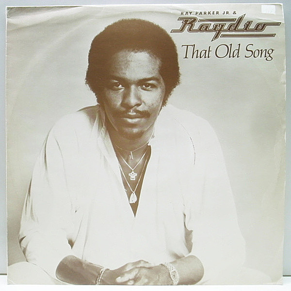 レコードメイン画像:美盤 UK ONLY 12インチ RAY PARKER JR. and RAYDIO - That Old Song / A Woman Needs Love 英盤 オンリー