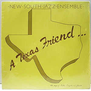 レコード画像:NEW SOUTH JAZZ ENSEMBLE / A Texas Friend