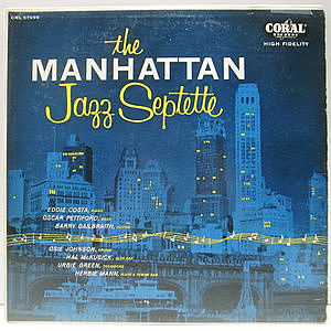 レコード画像:MANHATTAN JAZZ SEPTETTE / Same