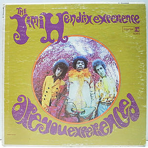 レコード画像:JIMI HENDRIX / Are You Experienced?