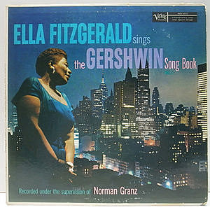 レコード画像:ELLA FITZGERALD / Sings The Gershwin Song Book Vol. 1