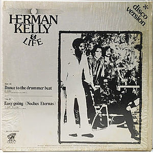レコード画像:HERMAN KELLY & LIFE / Dance To The Drummer Beat