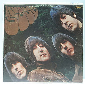 レコード画像:BEATLES / Rubber Soul