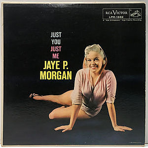 レコード画像:JAYE P. MORGAN / Just You, Just Me