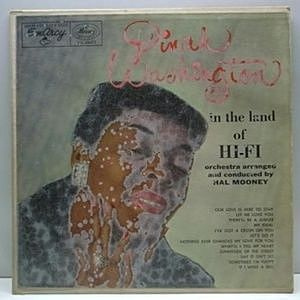 レコード画像:DINAH WASHINGTON / In The Land Of Hi-Fi