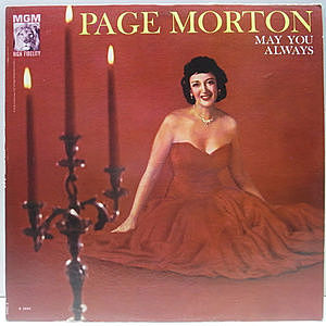レコード画像:PAGE MORTON / May You Always