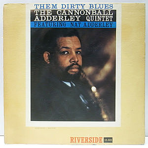 レコード画像:CANNONBALL ADDERLEY / Them Dirty Blues