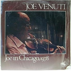 レコード画像:JOE VENUTI / Joe In Chicago, 1978