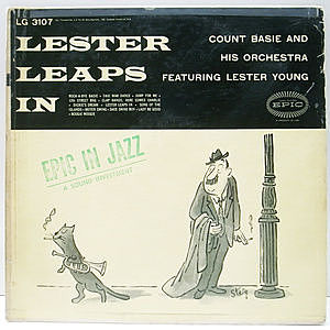 レコード画像:COUNT BASIE / LESTER YOUNG / Lester Leaps In
