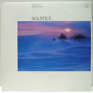 レコード画像:MICHAEL JONES / DAVID LANZ / Winter Solstice (Piano Solos)
