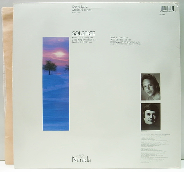 Michael Jones David Lanz Winter Solstice Piano Solos