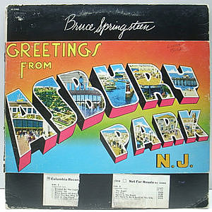 レコード画像:BRUCE SPRINGSTEE / Greetings From Asbury Park, N.J.